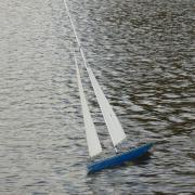 Le SEAWIND au près dans une rafale